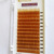 Marrón puro Pestañas C Curl 0.10x8/10/12mm Extensiones De Pestañas Individuales De Seda Marrón Color de Un bandeja de Pestañas Falsas