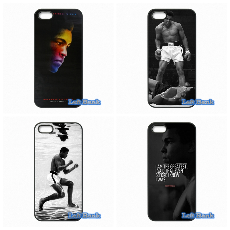 King of Boxing Muhammad Ali Hard Phone Case Cover For Apple iPod Touch 4 5 6 For iPhone 4 4S 5 5S 5C SE 6 6S Plus 4.7 5.5