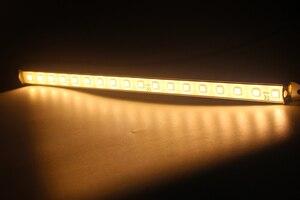 Image 2 - 12 V Marine Boot Yacht LED Streifen Licht Auto Innen Korridor Lampe Warmweiß RV Motor Home Zubehör