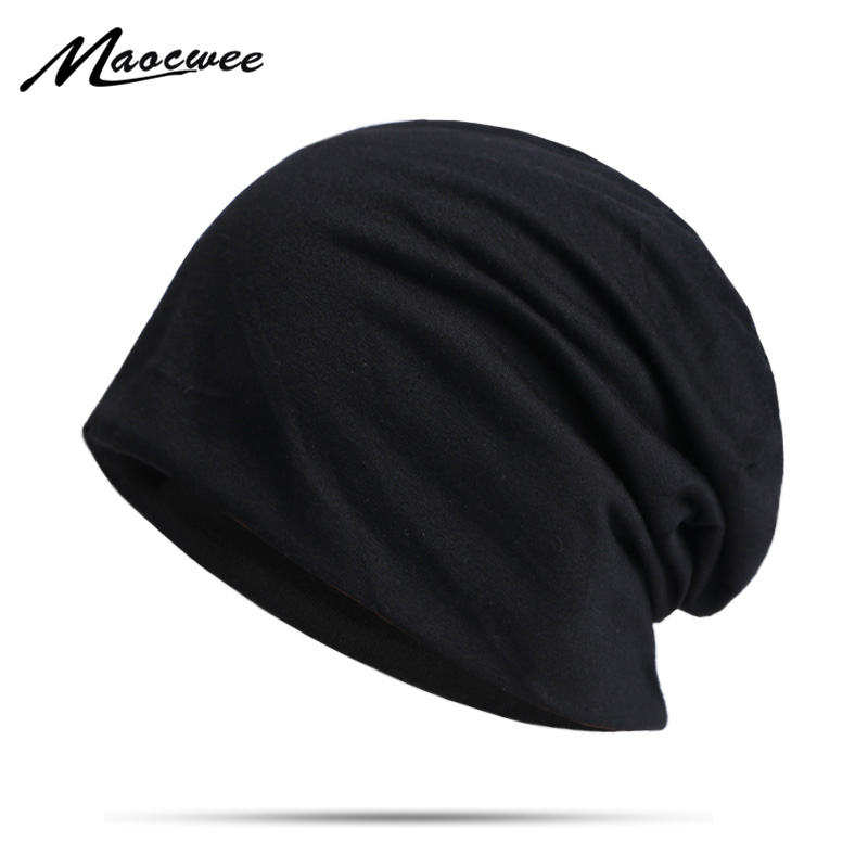 New Spring And Autumn Men's Winter Solid Color Hedging Cap Outdoor Sports Windproof Hat Fashion Beanie Hat