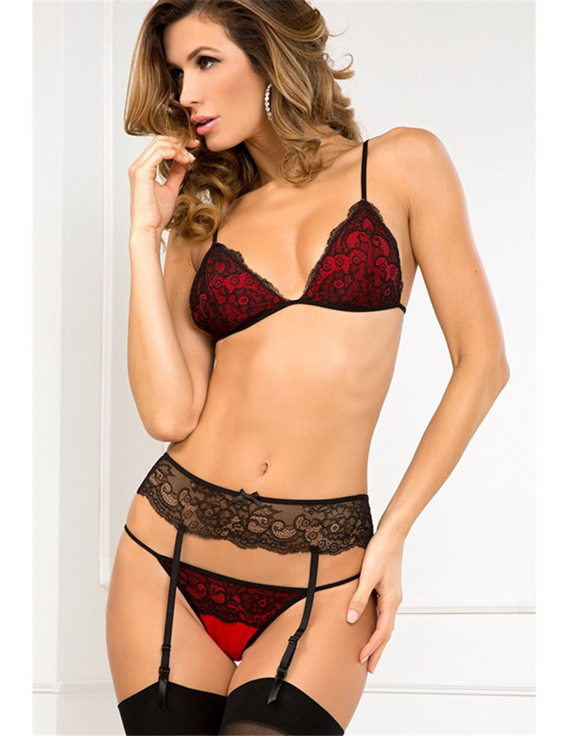 Online Buy Wholesale Garter Set Lingerie From China Garter -1119