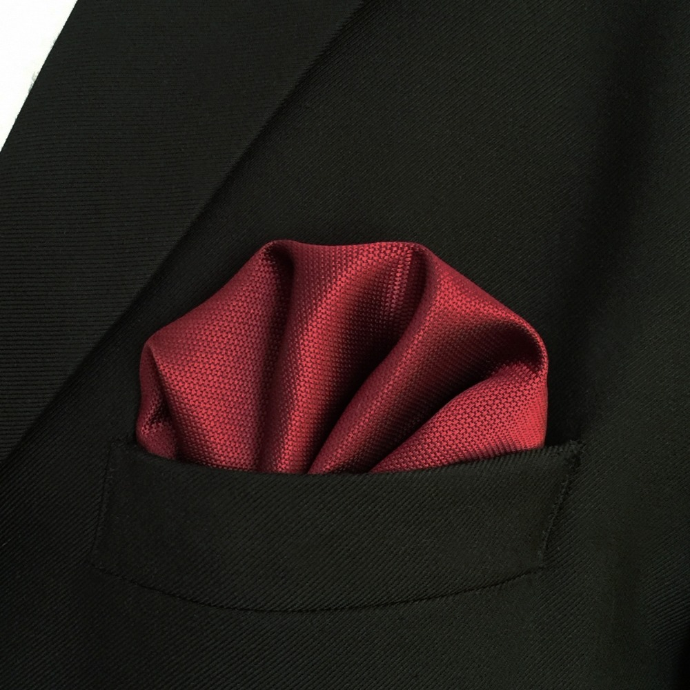 C33 Solid Red Ties for Men Necktie Set Silk Extra Long Slim Wedding in Men 39 s Ties amp Handkerchiefs from Apparel Accessories