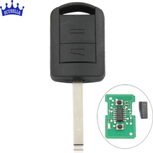 New Uncut Remote Key 2 Button 433Mhz ID40 for Vauxhall Corsa C Combo 2001-2004 HU100 Blade