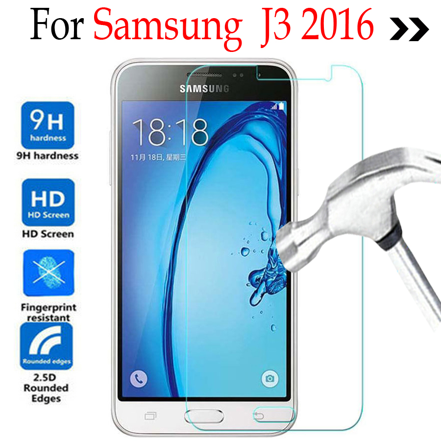 For Samsung Galaxy J3 2016 J320 Tempered Glass Screen Protector Cover On 6 J320f J320h J3109 Protective Film In Phone Protectors From