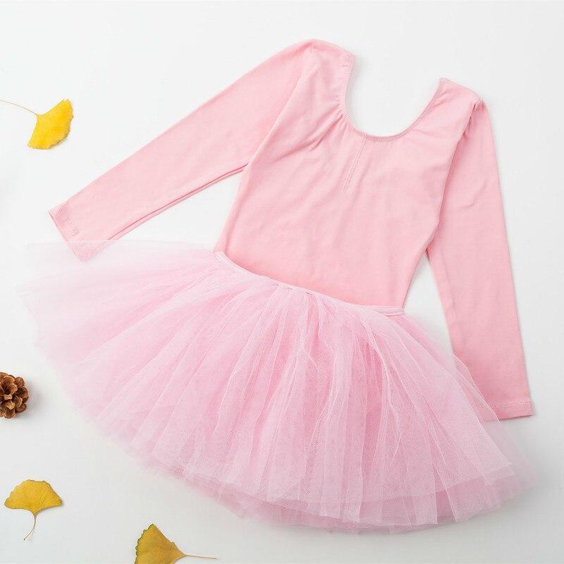 0ad22de2f Kids Dance Wear children Costumes Dancewear tutu skirt Long sleeved ...