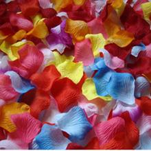 1000pcs Silk Rose Petals Artificial Flower Wedding Favor Bridal Shower Aisle Vase Decor Confetti Romantic wedding dress up