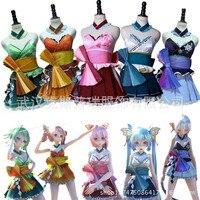 Vocaloid Kimagure Mercy Megurine Luka Gumi Kasane Teto Yowane Haku Hatsune Miku Cosplay Costume Custom Made For Halloween