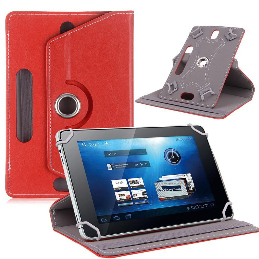 US $9 99 |AIBOULLY 360 Degree Rotating Leather Case Cover for 7