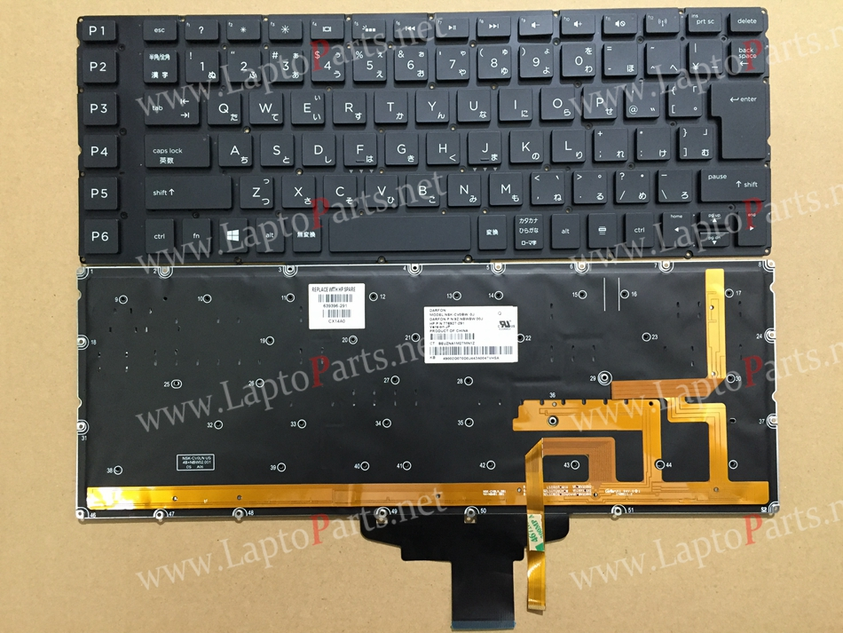 New JA Japan Backlit For HP Omen 15-5013TX 5014TX 5015TX 5016TX 5017TX 5018TX 5019TX 5020CA 776927-291 BackLit Laptop Keyboard