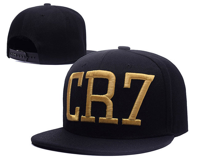 High Quality CR7 Hat Baseball Cap Casual Hip Hop Hat Snapback Black Gray  Blue 3 Colors c14807663