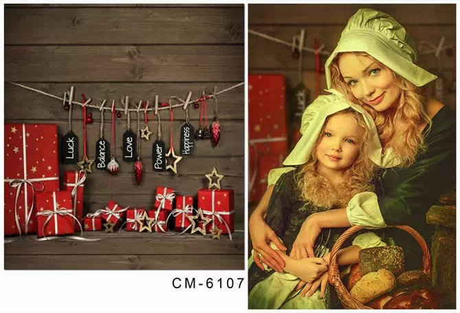 baby props chrismas photography backdrops for photos studio vintage wooden wall children photo background vinyl photographic