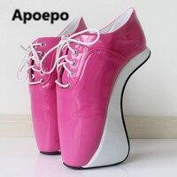 Продаж золотого и серебряного цвета зеркало в необычном стиле туфли на шпильках Большие размеры 45 балетки женские 18 см Туфли лодочки на уль