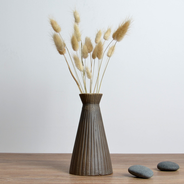 Fashion Japanese Retro Ceramic Flower Vase For House,Decorative Vases,Home  Decoration Modern Flower