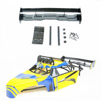 Body Roll Cage Wing for 1/5 HPI KM ROVAN Baja 5B FT 26cc 29cc 30.5CC RC Car Parts