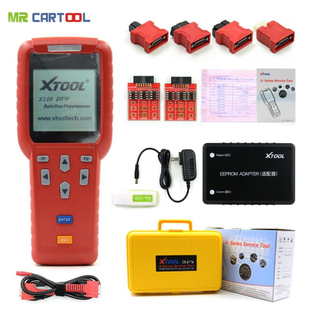 Xtool X100 Pro Auto Key Programmer ECM Reset ECU Immobilizer X100pro Immobilizer Programming Diagnostic Tool Free Update