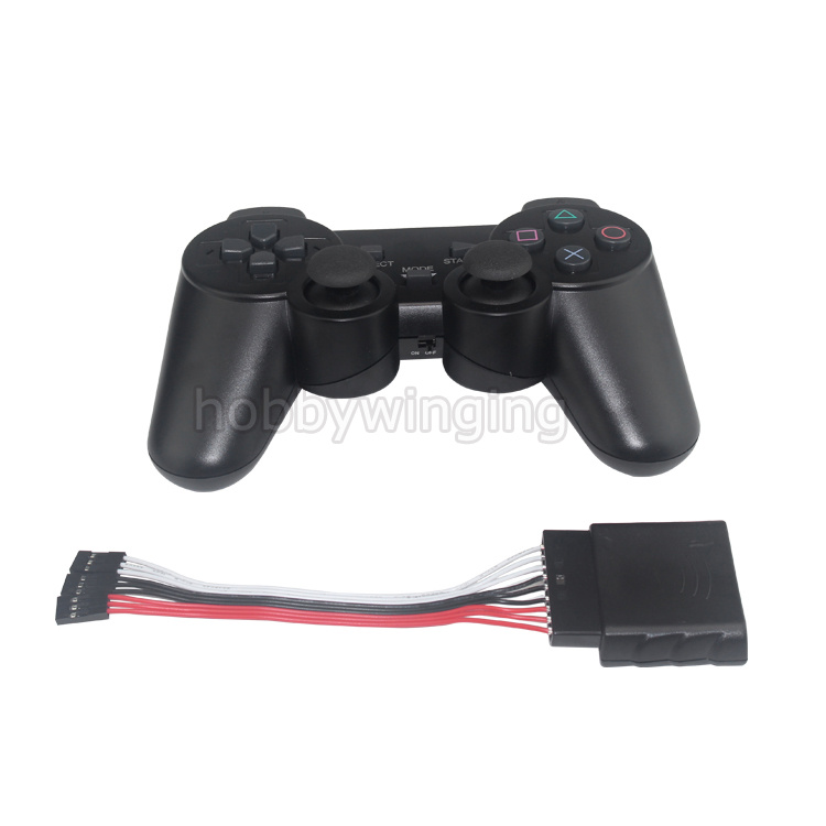 Robot PS2 Wireless Controller & Receiver Handle For RC manipulator  Mechanical Arm Robot DIY