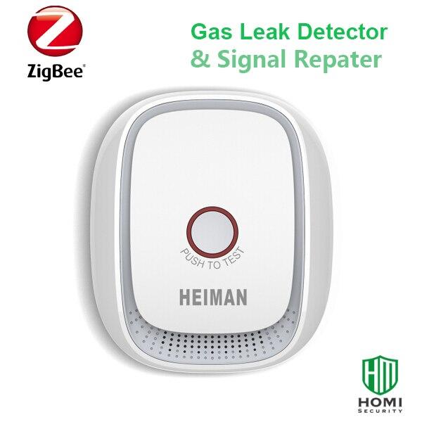 bilder für Drahtlose Zigbee smart erdgas, kohle gas, LPG brennbare gasaustritt sensor