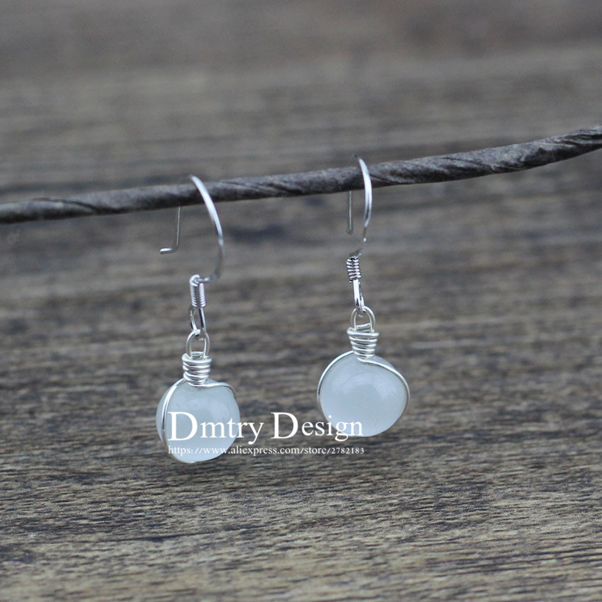 Outstanding Handmade Silver Wire Earrings Ornament - Schematic ...