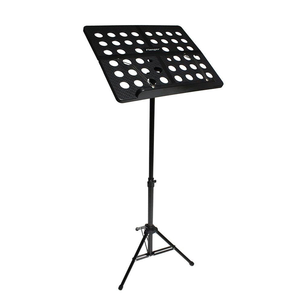 Flanger FL-05R Collapsible Sheet Music Score Tripod Stand Holder Bracket Aluminum Alloy for Guitar Folding Music Stand