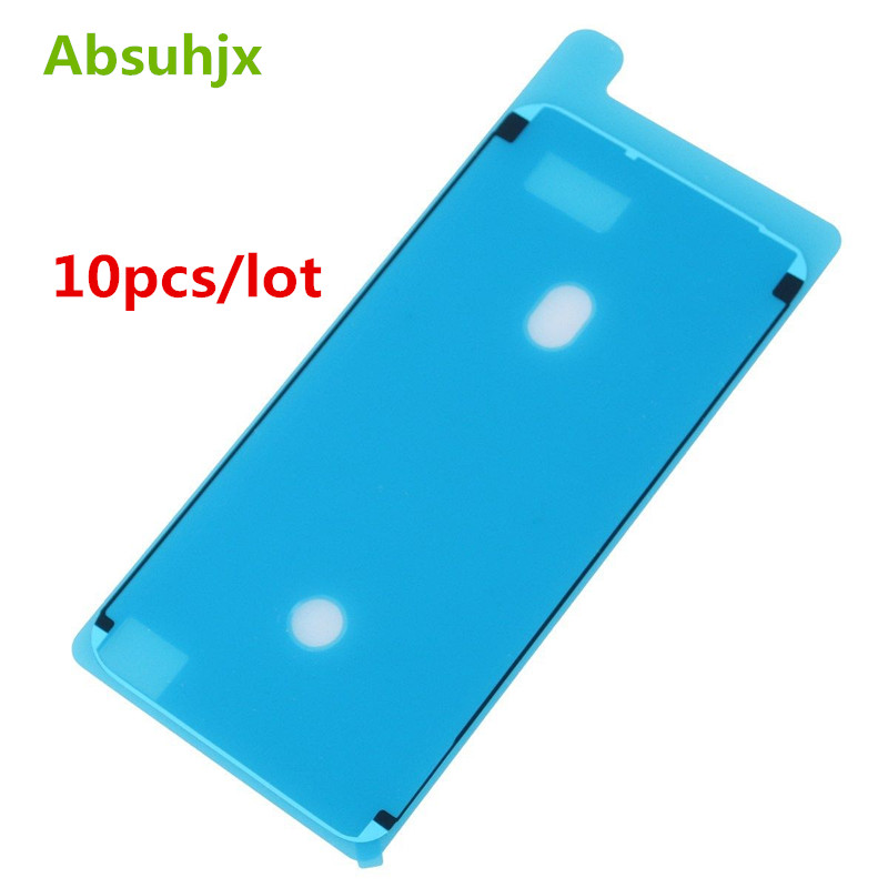 Absuhjx 10pcs Waterproof Sticker for iPhone X XS Max XR Adhesive Pre-Cut LCD Screen Frame Pull Tape for iPhone 6S 7 8 Plus