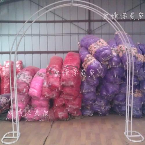 Wedding Props Supplies Wholesale Silk Flower Arches Arches Frame