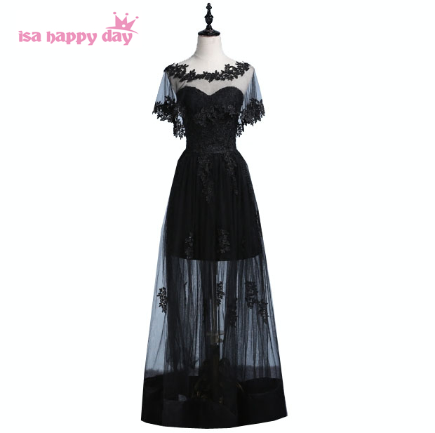 black off shoulder bridesmaid strapless sweetheart gown party dreses women for bridesmaids ball gowns for wedding guest B3912