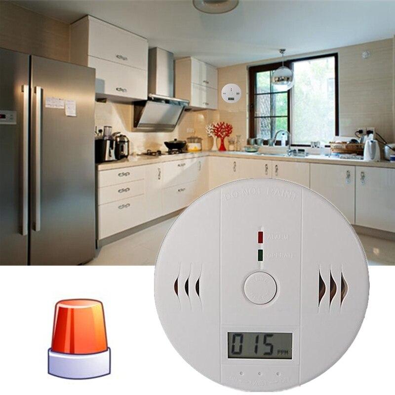 CO monóxido de carbono intoxicación humo Sensor de Gas alarma Detector de alarma cocina hogar seguridad