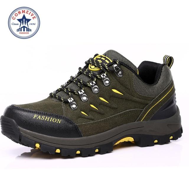 € 27.06 40% de DESCUENTO| : Comprar Nuevo invierno impermeable zapatos de senderismo de los hombres al aire libre deportes zapatillas