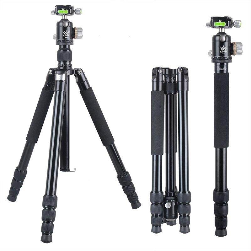 Matton W-284A Pro Tripé De Alumínio Monopé Removível Q36 Bola de Cabeça e QR Placa Para DSLR câmera Digital Mirrorless camera