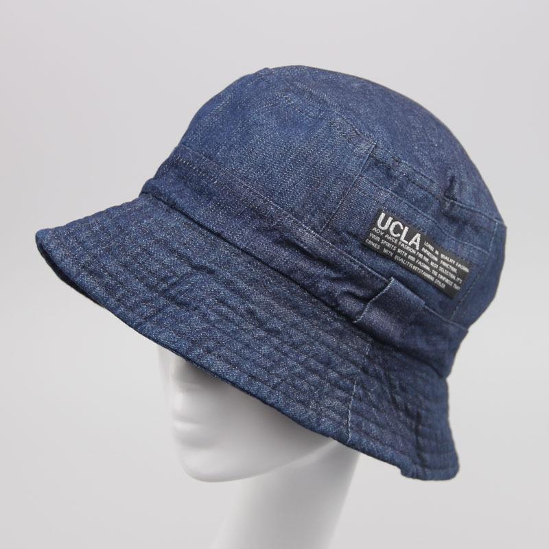 16 Fashion Cottonblend Denim Unisex Cap Bucket Hat Summer Outdoor Fishing Caps for Men and Women Flat Sun Berets HT51041+ 6