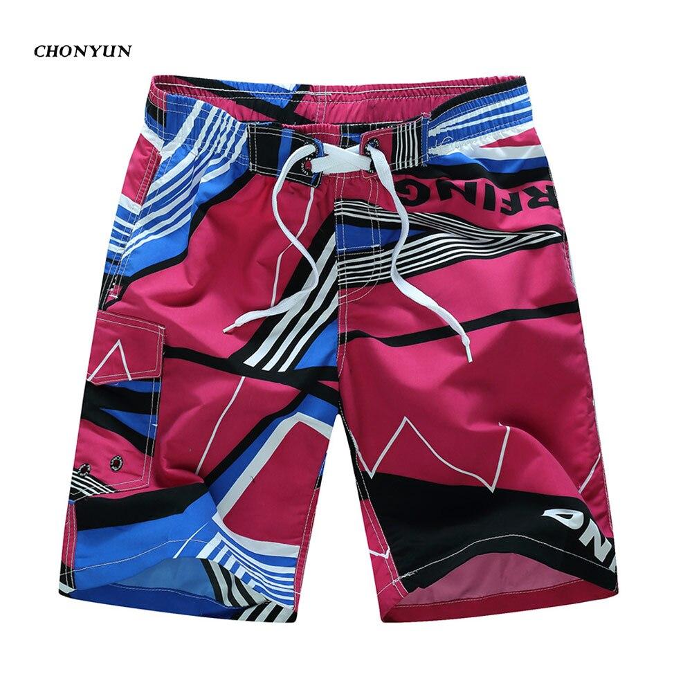 1f67dd4c9b Shorts da praia Dos Homens Da Marca Esporte Homens Surf Board Shorts  Boardshorts de Surf de