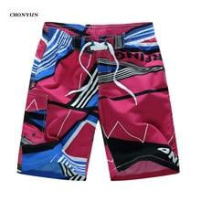 New Beach Shorts Mens Brand Surf Sport Boardshorts Male Swimwear Summer Quick Dry Bermuda Plus Size 4XL 5XL 6XL