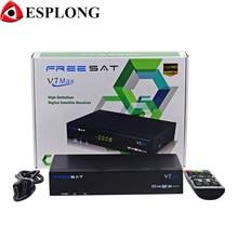 [Genuine] Freesat V7 Max with USB Wifi 1080p Full HD DVB-S2 Satellite TV Receiver Support Newcamd PowerVu Set Top Box