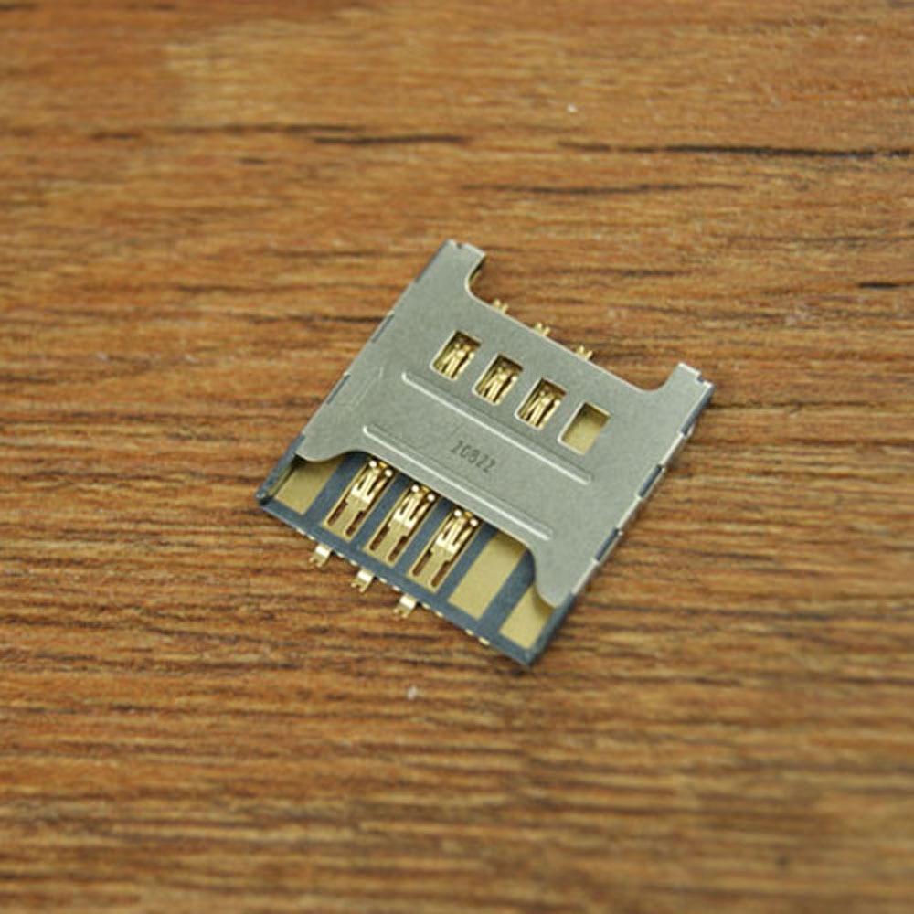 For Samsung Galaxy S I9000 C3750 S5360 S3850 Note I9220 N7000 SIM Card Tray Slot Holder Socket Connector Plug Repair Part