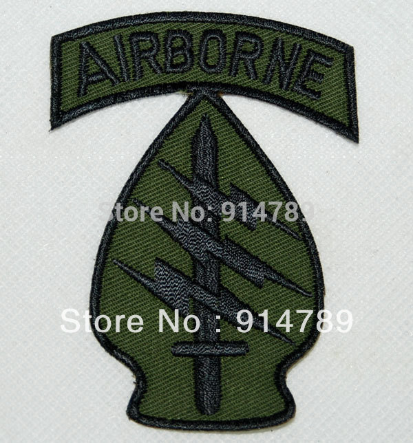 UNITED STATES US AIRBORNE SPECIAL FORCES EMBROIDERED PATCH -32292