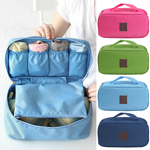 c8668e3244a0 Hot! Portable Protect Bra Underwear Lingerie Case Travel Organizer  Waterproof Bag