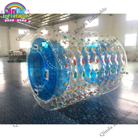 Красивые Надувной водный ролик мяч мягкий Игрушечные лошадки прыгающий мяч Надувные Прогулки на надувной мяч