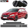 Edition 1 Style Side Stripes Top Roof Hood Bonnet Decal Stickers for Mercedes Benz W176 A Class A45 AMG A200 A180- 4 colors