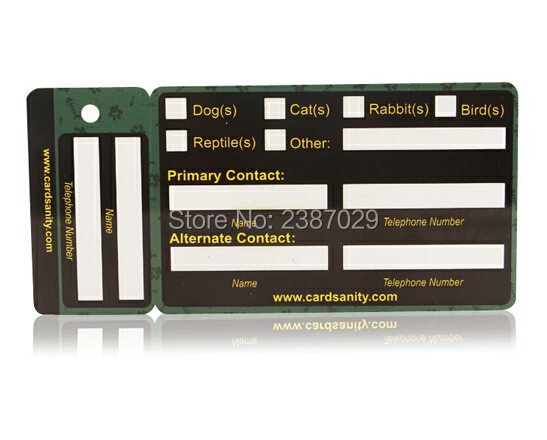 Personnalis Irrgulire Impression Couleur PVC Keychain Combo Carte De Visite Avec Panneau Signature Et Poinon