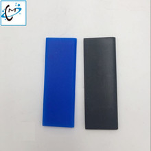 Black / Blue colors for Ep--on 5113 printhead clean wiper 6cm length wipers Flatbed UV / solvent printer 5113 head wiper multifunctional small flatbed printer for glass leather printing a4 eso solvent printer