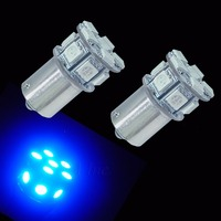 PA LED 10pcs x 13SMD 1156 p21w BA15S 5050 Epistar LED Turn Signal Light Blue Color 12V