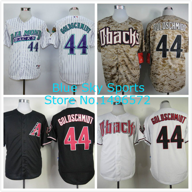 new product 744a6 5b289 Arizona Diamondbacks Jersey 44 Paul Goldschmidt Jersey Cool ...