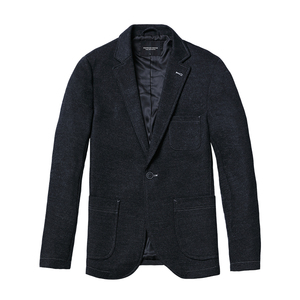 Image 5 - SIMWOOD 2020 Winter Smart Casual Blazers Men Single Button Mix Wool Jacket Fashion High Quality Coats Male Suits Clothes 180389