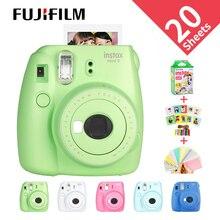 Новый Fujifilm InstaxMini 9 Бесплатный подарок для Polaroid InstantPhoto camera FilmPhoto camera в 5 цветах мгновенная фотокамера