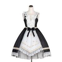 2018 Original Summer Women Pink White Black Bowknot Sweet Ruffle Chiffon Sleeveless Lolita Dress Lotus Dress Hot Sale Wholesale