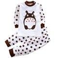 Conjunto de roupas de bebê roupas de Sono para crianças roupas para meninos meninas pijamas roupa dos miúdos do algodão para meninos e meninas de até 1 2 3 anos