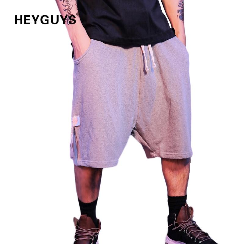 2019 Heyguys New Classic Plaind Short Men Do Old Render Board Shorts Men Workout High Waist Mesh Shorts Jumpsuit