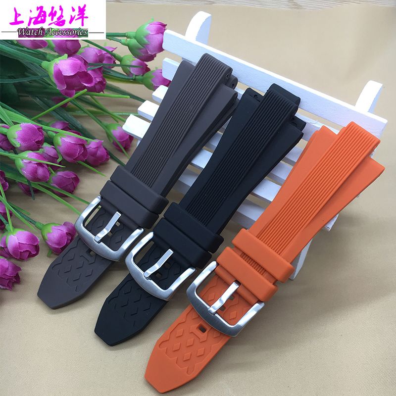 Free shipping 29*13mm Watchband Silicone Rubber Bands For Watches M-K Replace Electronic Wristwatch Band Sports Watch Straps