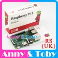 RS Version (made in UK): Original Raspberry Pi 3 Model B Board Ras PI3 Card Board 1GB LPDDR2 Quad-Core with WiFi&Bluetooth