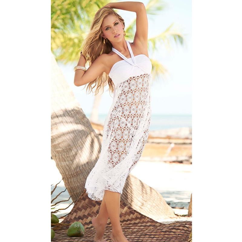 Saida De Praia Pareo Beach Cover Up Swimwear Women ...